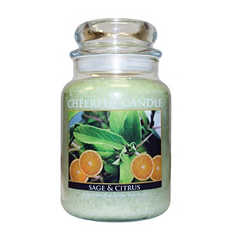 Cheerful Candle 24-oz. Sage & Citrus Candle