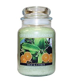 A Cheerful Giver Sage & Citrus Candle
