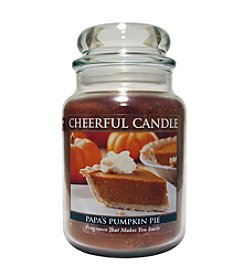 A Cheerful Giver Pumpkin Pie Candle