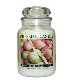 A Cheerful Giver Fresh Peeled Macintosh Candle