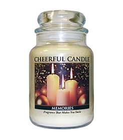 A Cheerful Giver Memories Candle