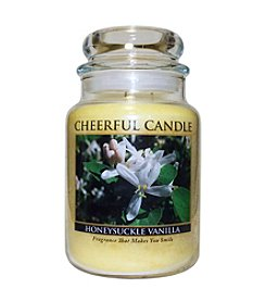 A Cheerful Giver Large Honeysuckle Vanilla Candle