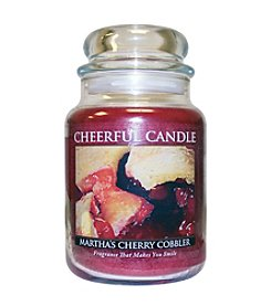 A Cheerful Giver Martha's Cherry Cobbler Candle