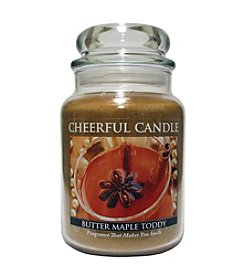 A Cheerful Giver Butter Maple Toddy Candle