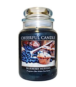 A Cheerful Giver Blueberry Muffins Candle