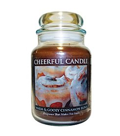 A Cheerful Giver Warm & Gooey Cinnamon Buns Candle