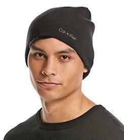 Calvin Klein Men's Solid Color Reversible Hat