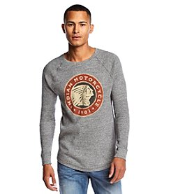 Lucky Brand® Men's Long-Sleeve Indian Motorcycle Tee