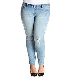 Jessica Simpson Plus Size Kiss Me Skinny Jeans