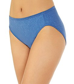 Vanity Fair® Illumination Cotton High Cut Panty