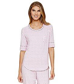 Cuddl Duds® Printed Pajama Top
