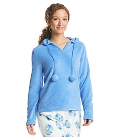 PJ Couture Fleece Lounge Hoodie