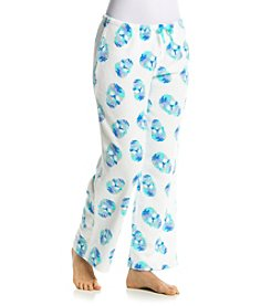 PJ Couture Printed Fleece Pajama Pants