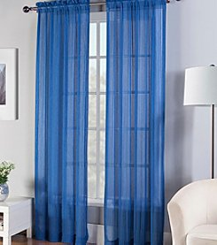 Fiesta® Sheer Rod Pocket Window Curtain