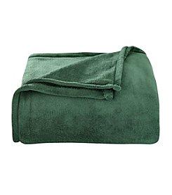 LivingQuarters Evergreen Micro Cozy Blanket