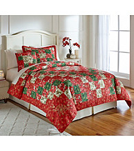 LivingQuarters Holly Quilt Collection