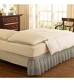 Easy Fit™ Wrap Around Solid Ruffled Bed Skirt