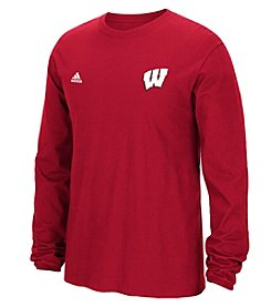 NCAA® Wisconsin Men's Primary Screen Long Sleeve Tee