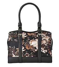 GAL Top Zipper Satchel Tote