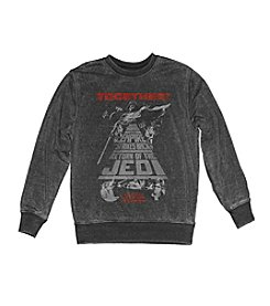 Mad Engine Men's Star Wars™ Triple Play Burnout Crewneck Fleece Pullover