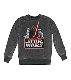 Mad Engine Men's Star Wars™ Badge Bunch Crewneck Fleece Pullover