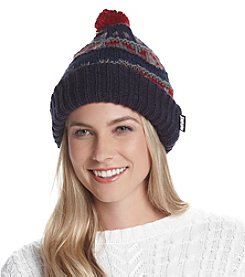 MUK LUKS® Reversible Knit Beanie
