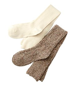 Relativity® 2-Pack Sweater Knit Socks