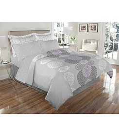 Elite Home Products Avery Reversible 8-pc. Comforter Set