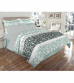 Elite Home Products Sutton Manor Reversible 8-pc. Comforter Set