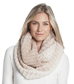 Free Spirit™ Marled Colorblock Infinity Scarf