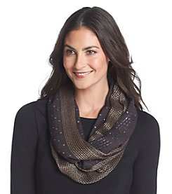 Basha Windowpane Border Scarf