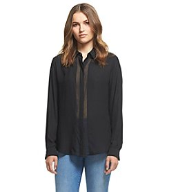 Robert Rodriguez® Hidden Placket Top