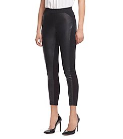 Robert Rodriguez® Ponte Faux Leather Leggings