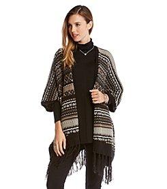 Karen Kane® Blanket Poncho