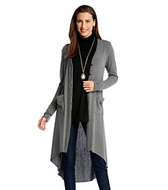 Karen Kane® High-Low Duster Cardigan