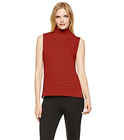 Vince Camuto® Mockneck Sleeveless Sweater