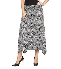 Chaus Swirl Sharkbite Skirt