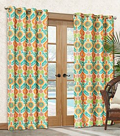 Waverly® Santa Maria Indoor or Outdoor Window Curtain