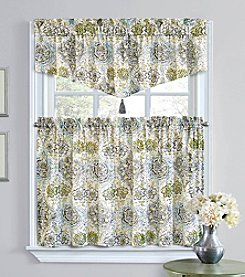 Waverly® King's Turban Tier Pair Window Treatment