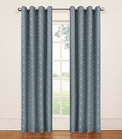 eclipse™ Tipton Trellis Grommet Blackout Window Curtain