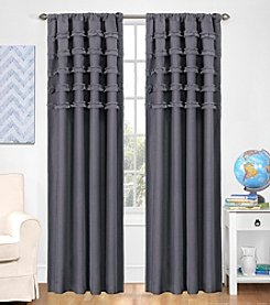 eclipse™ Kids Ruffle Batiste Blackout Window Curtain