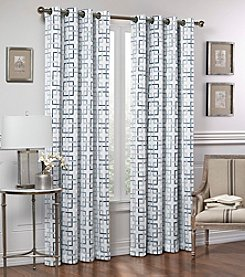 Vue™ Signature Marley Trellis Room Darkening Window Curtain
