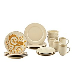 Rachael Ray® Cream Holiday 20-pc. Dinnerware Set