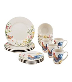 Paula Deen® Garden Rooster Dinnerware Collection
