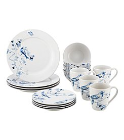 Paula Deen® Indigo Blossom Stoneware Dinnerware Collection