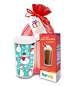 Tervis® Juggling Snowmen Wrap 16-Oz. Insulated Cooler Hot Chocolate Gift Bundle