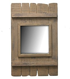 Fetco® Wood Plank Mirror