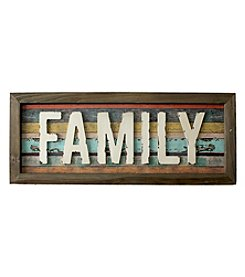 Fetco® Family Wood Plank Art