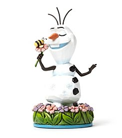 Heartwood Creek by Jim Shore Disney® Olaf With Flower Figurine