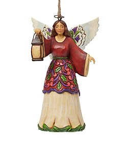 Heartwood Creek by Jim Shore Angel With Lantern Ornament